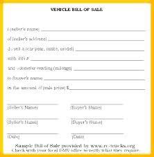 Vehicle Sales Receipt Template The Newninthprecinct