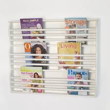 magazine rack wall mount:  images about nursery on pinterest book racks wall mounted bookshelves and magazine racks wall