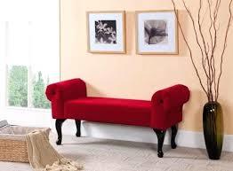 Bedroom Arm Bench Impressive Design Red Bedroom Bench Remarkable Rolled Arm Bedroom  Bench Including Red Rolled . Bedroom Arm Bench ...