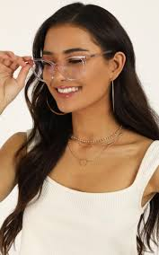 Quay Blue Light Sunglasses Quay X Chrissy All Nighter Blue Light Glasses In Pink And Clear Produced By Showpo