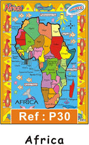 Classroom Poster Of Africa