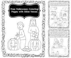 pumpkin story coloring book bible verses celebrating  halloween coloring pages bible verses