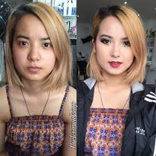 you makeup transformation follow me on insram prekxa b makeup transformation asian
