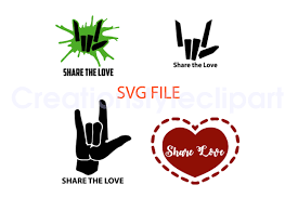 Well optimized vector, free svg icons and png icons download for creative projects. Share The Love Svg Graphic By Creationstyleclipart Creative Fabrica Svg Free Svg Svg Files For Cricut