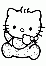 Hello Kitty Coloring Pages Free Printable Coloring Pages