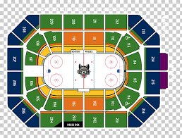 Birmingham Jefferson Civic Center Seating Chart Allstate Arena At T Center Chicago Wolves Birmingham