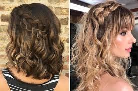 تسريحات شعر قصير ويفي لعروس 2019