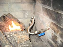 gas line for fireplace gas fireplace vent pipe size