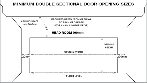 standard garage door width standard double sectional garage door sizes standard garage door width nz