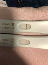 Pregnancy Test One Line Dark The Other Light Line Not Darker This Morning January 2019 Babies Forums