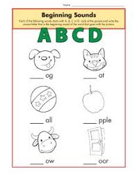 See our extensive collection of esl phonics materials for all levels, including word lists, sentences, reading passages, activities, and worksheets! Beginning Sounds Worksheets Abcd Phonics Worksheet