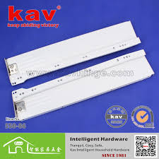 Cabinet Drawer Rails Kav Metal Box Drawer Slides Soft Close Drawer Slides Heavy Duty