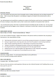 Examples Of Hobbies And Interests For Job Application Cv Example For Dental Nurse Job Applications Lettercv Com