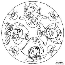 Mandala Kleurplaten Piraten Az Ausmalbilder