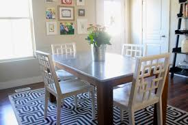 Stainless Top Kitchen Table I Finally Have A New Kitchen Table House Of Jade Interiors Blog