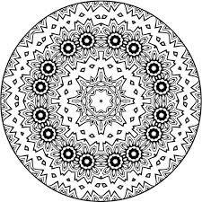 Self Healing Mandala Kleurplaat Punt 4 Etsy