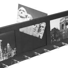 barska cb11806 four section 4 inch x 6 inch wall mount picture frame with 12 position