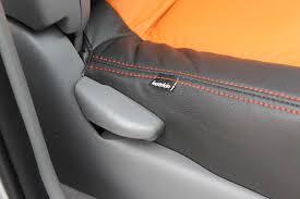 best leather interior katzkin logo