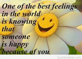 Happy Quote Cool Best Feeling In The World Is Being Happy Quote