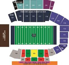 63 Experienced Utah State Football Seating Chart