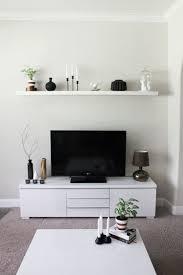 Living Room Tv Set Interior Design Bilderleiste Als Wandregal A 1 4 Ber Fernseher Ikea Pinterest Tvs