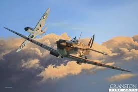 spitfire art. where thoroughbreds play by ivan berryman. spitfire art