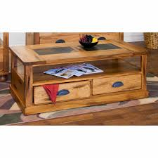 Sunny Designs Coffee Table Sunny Designs Sedona Coffee Table W Drawers Casters 3163ro C