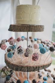Decorating Cake Balls A Charming Homemade Country Wedding Cake pop displays Rustic 59