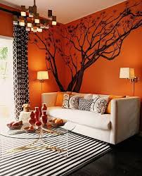 astonishing orange living room ideas design orange and