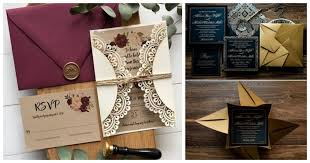 Weding Card Designs 20 Invitation Card Designs To Check Before Getting Your