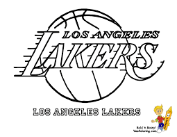 Small Picture la lakers coloring pages 28 images nba coloring pages studio