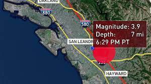 Preliminary 3.9 Magnitude Earthquake ...