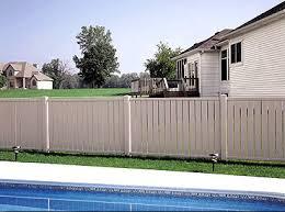 Vinyl Semi Privacy Fence Styles Heartland Deck Fence