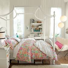 astonishing white bedroom with colorful bed cover and white pendant lamp and white furniture for girls astonishing cool furniture teens