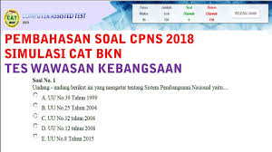 Klik download soal hots terbaru 2021 klik download kunci jawaban soal try out online. Soal Cpns Bkn 2018