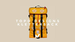 The Topo Designs Klettersack Backpack