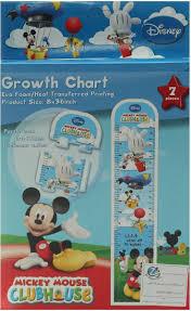 Ht Chart Sunta Toys Dm452 Ht Printed 7pcs Growth Chart Mickey For