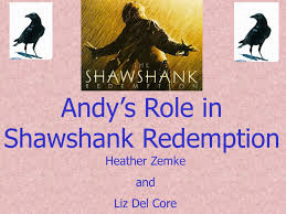 andy s role in shawshank redemption ppt video online andy s role in shawshank redemption
