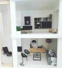 mid century modern dollhouse furniture. Mid Century Modern Dollhouse Kit Barbie Furniture Awe Inspiring Sets Kits I