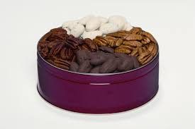 2 lb ultimate pecan bination gift tin 4 items