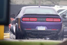 2018 dodge sport. plain dodge dodge challenger hellcat adr spied is a widebody sore thumb  2018 inside dodge sport