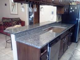 image of faux blue marble countertop