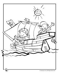Kleurplaat Schip Thema Piraten Piraten Kleurplaten Und Kleuren