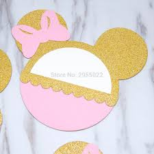 Us 12 91 15 Off Laser Cut Personalised Mouse Invitation Baby Girl Party Invitation Birthday Invitation In Cards Invitations From Home Garden On