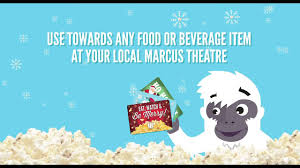 marcus theatres holiday gift card special offer