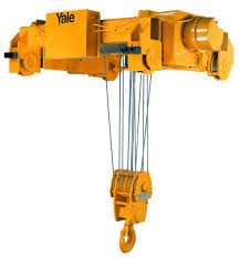 yale cable king ton electric wire rope hoist fpm  yale cable king 20 ton electric wire rope hoist 23fpm 104 lift single reeve