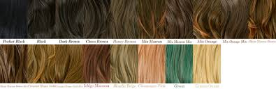 Sample Hair Colors Chart Brown Hair Color Samples Find Your Perfect Hair Style