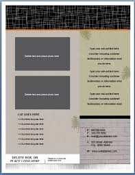 flyer free template microsoft word free ms word real estate flyer template formal word templates