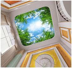 3d Foto Behang Custom 3d Plafond Muurschilderingen Behang Sky Onder