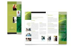 Marketing Brochure Templates Internet Marketing Tri Fold Brochure Template Design